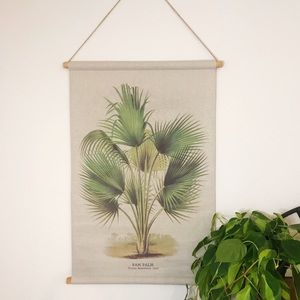Other - 🌵🦚Boho Fan Palm Scroll Wall Hanging🦚🌵